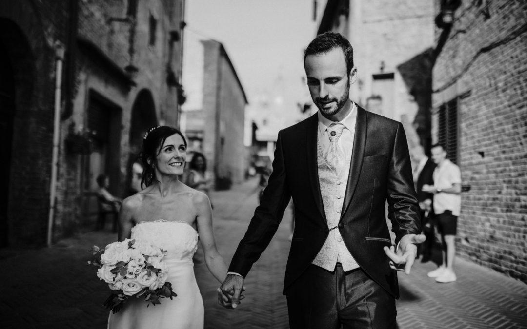 [WEDDING] Amandine & Thomas : leur destination de mariage en Toscane