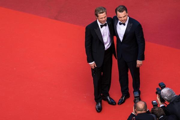 brad pitt and leonardo dicaprio attending cannes film festival