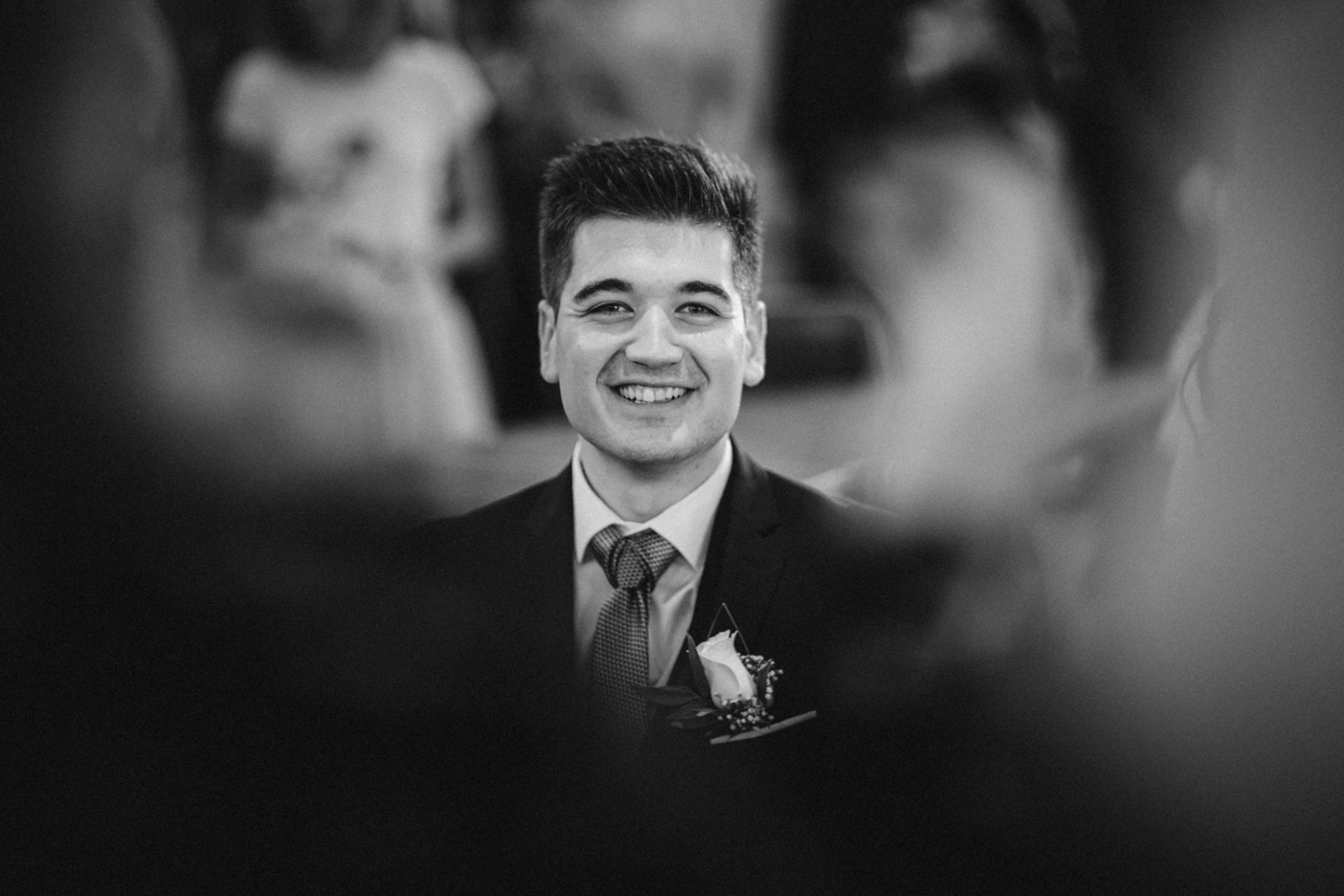 the smile of the groom - destination wedding photographer france