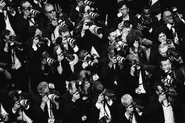 photographes du Festival de Cannes