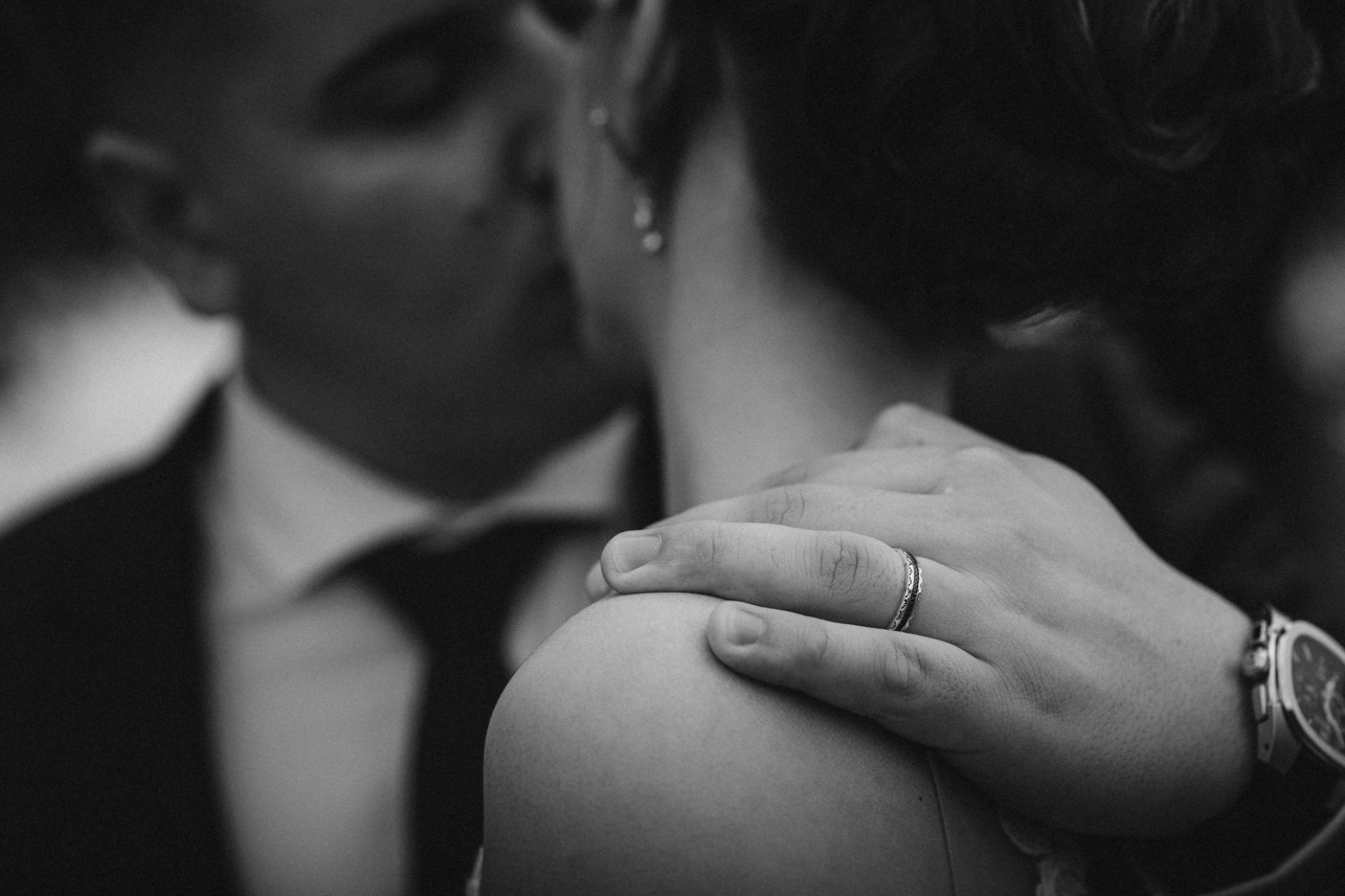 photo detail de mariage