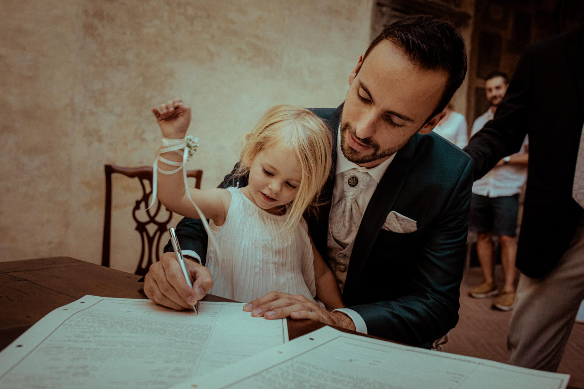 signature du marie photographie mariage