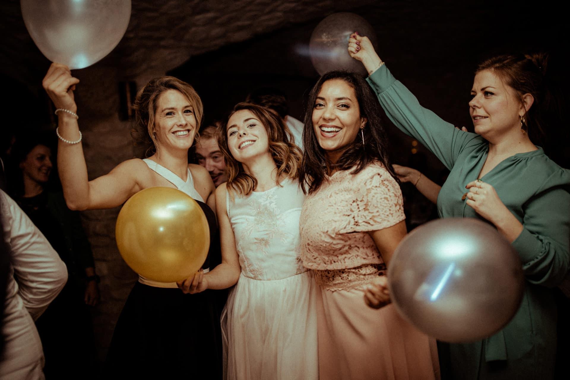 photo des copines fete de mariage