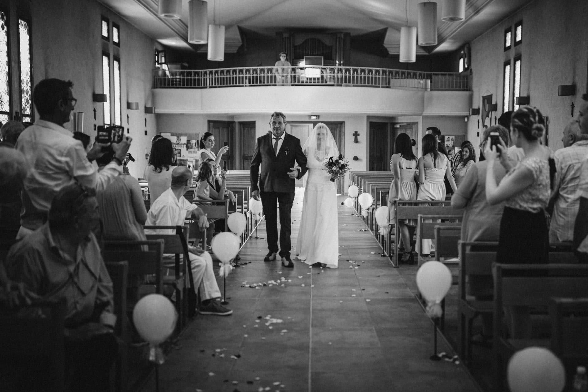 church bride and father wedding destination wedding photographer paris france