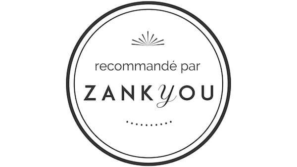zankyou recommended badge