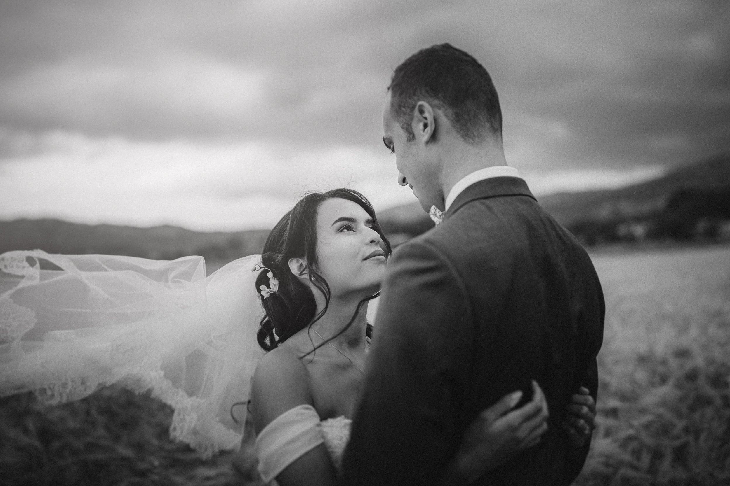 des photos de mariage naturelles et spontanées