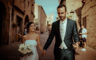 [Dans ton Cadre !] Mariage dans les rues de Certaldo, Toscane