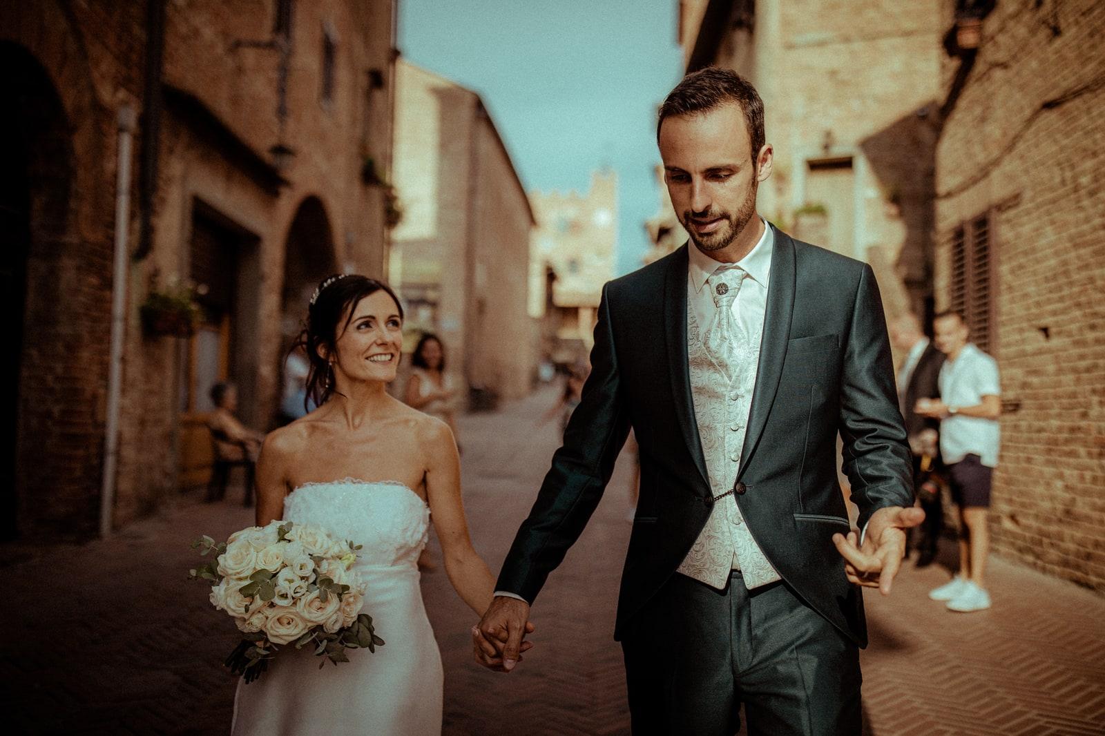 mariage à certaldo toscane