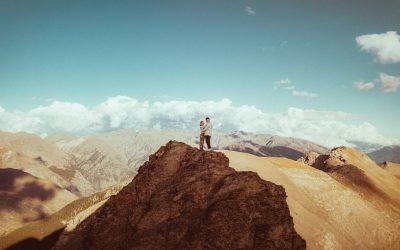 Margot et Bastien : les photos d'un couple amoureux, à la montagne